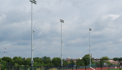 Derry Township High School outdoor Athletic Track & Field Lighting