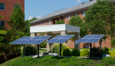 Lancaster, PA energy management system & solar panel installers project: Messiah College Solar Panel
