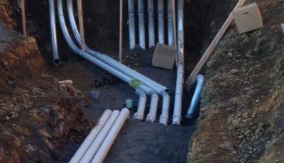 Messiah College Underground Duct Bank Installation